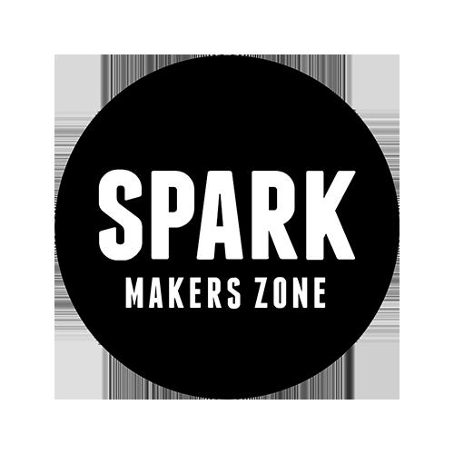 SPARK MAKERS ZONE logo